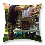 Chef Cooking Throw Pillow