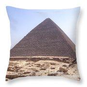 Cheops Pyramid - Egypt Throw Pillow