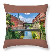 Chesapeake And Ohio Canal Throw Pillow