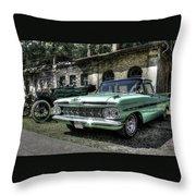 Chevrolet El Camino Throw Pillow