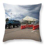 Chevrolet Suburban Throw Pillow
