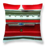 Chevy Impala Ss 238 Throw Pillow