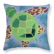 Chiaras Turtle Throw Pillow
