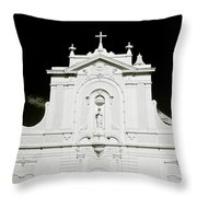 Chiaroscuro Christianity Throw Pillow