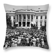 Chief Justice Fred Vinson Throw Pillow