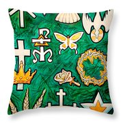 Chrismons Throw Pillow