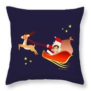 Christmas #3 Throw Pillow