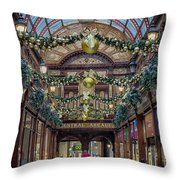 Christmas Arcade Throw Pillow
