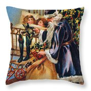 Christmas Card Throw Pillow by Granger