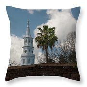 Church Bells Ringing Throw Pillow