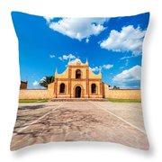 Church, Chapel, Bell Tower Throw Pillow