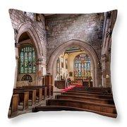 Church Light Throw Pillow
