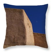 Church Taos Nm Throw Pillow