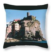 Cinque Terre 3 Photograph Throw Pillow