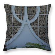Circle T Church Throw Pillow