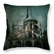 Citadel Throw Pillow by Andrew Paranavitana