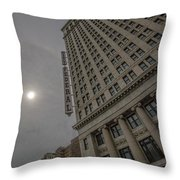 City Federal Throw Pillow