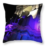 City Hall Pasadena California Throw Pillow