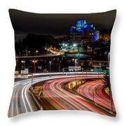 City Lights #6 Throw Pillow
