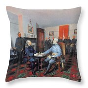 Civil War: Appomattox, 1865 Throw Pillow