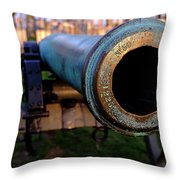 Civil War Cannon 1862 In Gettysburg Pa Throw Pillow