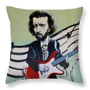 Clapton Throw Pillow