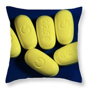 Clarithromycin Throw Pillow