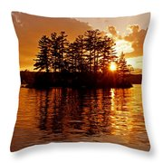 Clarity Of Spirit Throw Pillow