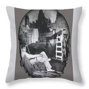 Clark Gable Mgm Sound Stage Circa 1932-2008 Throw Pillow