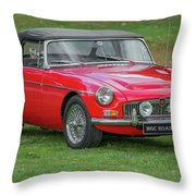 Classic Mg Throw Pillow