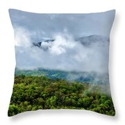 Clearing Storm West Virginia Highlands Throw Pillow