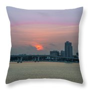 Clearwater At Sunrise Throw Pillow