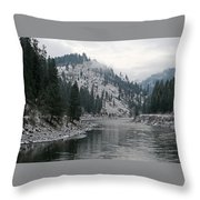 Clearwater River Throw Pillow