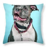Clooney Throw Pillow