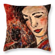 Close Friends Throw Pillow