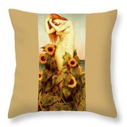 Clytie Throw Pillow