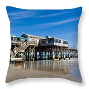 Cocoa Beach Florida Throw Pillow