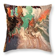 Cold In Hell Throw Pillow
