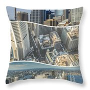 Collage Of Sydeny  Throw Pillow