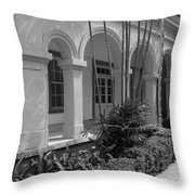Colonial Architecture Throw Pillow