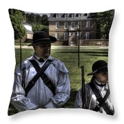 Colonial Williamsburg  V8 Throw Pillow