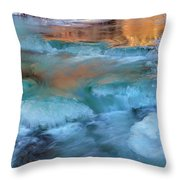 Color Of Winter Throw Pillow