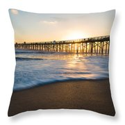 Colorful Start Throw Pillow