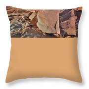 Colorful Valley Of Fire State Park Throw Pillow