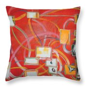 Colour Of Music I Throw Pillow