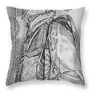 Combat Airman Throw Pillow