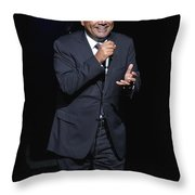 Comedian George Lopez Throw Pillow