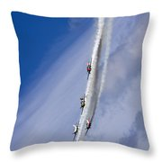 Coming Back From Heaven Throw Pillow