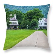 Commandants House At West Point Throw Pillow