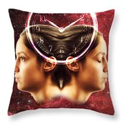 Conceptual Illustration Of Circadian Throw Pillow